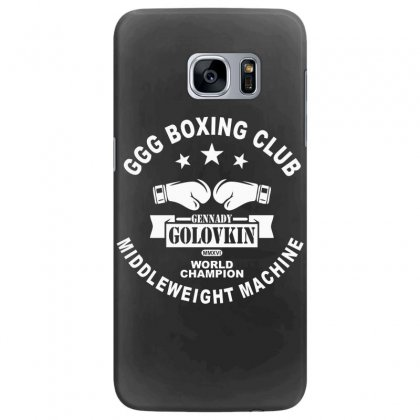 Ggg Boxing Club Samsung Galaxy S7 Edge Case Designed By Bluebubble