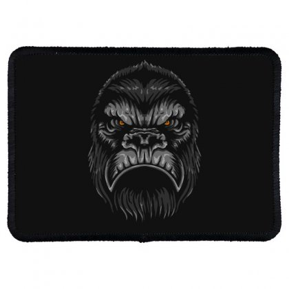 Gorilla T Shirt Rectangle Patch Designed By Bluebubble