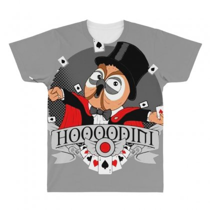 Hoodini All Over Men's T-shirt Designed By Bluebubble