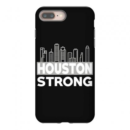 Houston Strong City Iphone 8 Plus Case Designed By Bluebubble