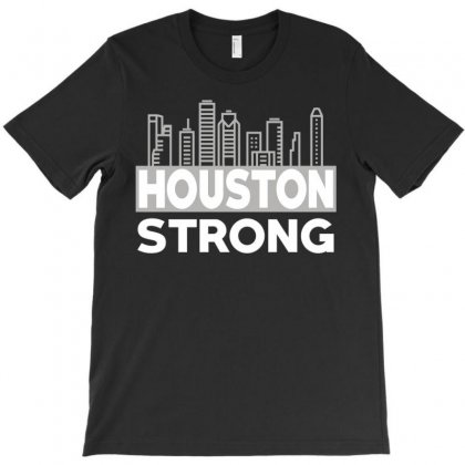 Houston Strong City T-shirt Designed By Bluebubble