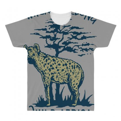 Hyena T Shirt All Over Men's T-shirt Designed By Bluebubble