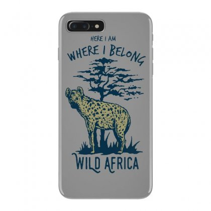 Hyena T Shirt Iphone 7 Plus Case Designed By Bluebubble