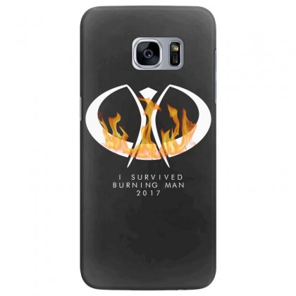 I Survived Burning Man Samsung Galaxy S7 Edge Case Designed By Bluebubble