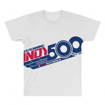 Indy 500 All Over Men's T-shirt Designed By Bluebubble
