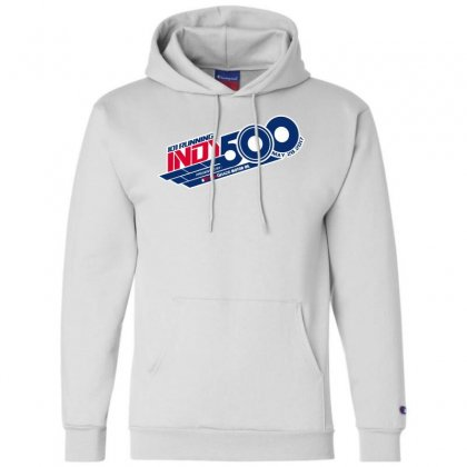 Indy 500 Champion Hoodie Designed By Bluebubble