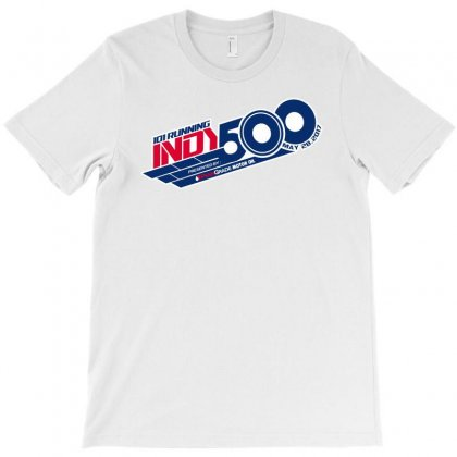 Indy 500 T-shirt Designed By Bluebubble