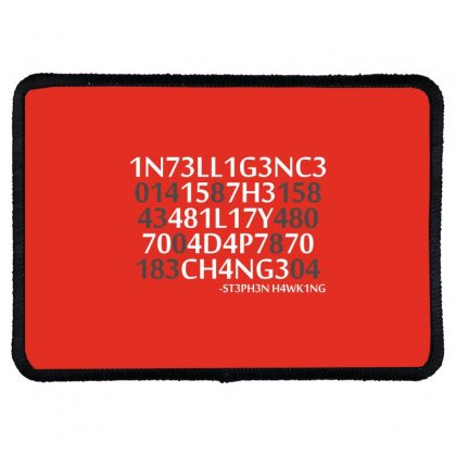 Intelligence Rectangle Patch Designed By Bluebubble