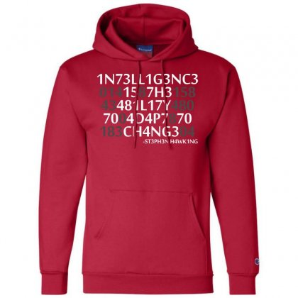 Intelligence Champion Hoodie Designed By Bluebubble