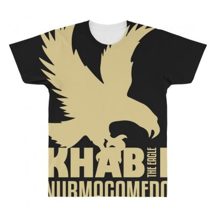 Khabib Nurmagomedov All Over Men's T-shirt Designed By Bluebubble