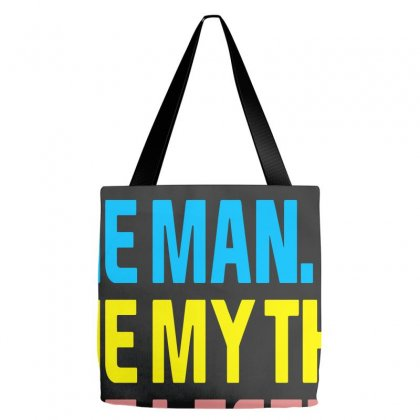Poppy The Man The Myth The Legend Tote Bags Designed By Blue