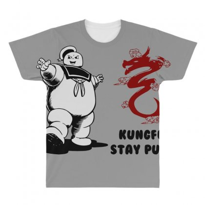 Kungfu Stay Puft All Over Men's T-shirt Designed By Bluebubble