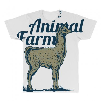 Llama T Shirt All Over Men's T-shirt Designed By Bluebubble
