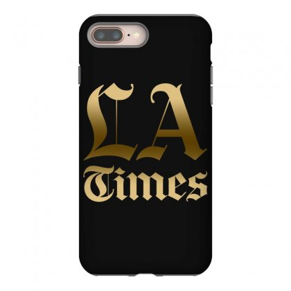 Los Angeles Times Iphone 8 Plus Case Designed By Bluebubble