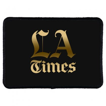 Los Angeles Times Rectangle Patch Designed By Bluebubble