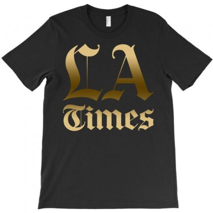 Los Angeles Times T-shirt Designed By Bluebubble