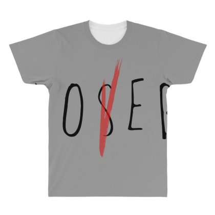 Loser Black All Over Men's T-shirt Designed By Bluebubble