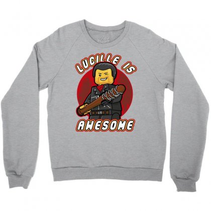 Lucille Is Awesome Crewneck Sweatshirt Designed By Bluebubble