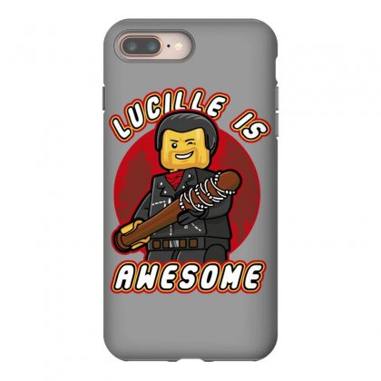 Lucille Is Awesome Iphone 8 Plus Case Designed By Bluebubble