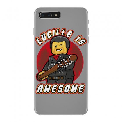Lucille Is Awesome Iphone 7 Plus Case Designed By Bluebubble