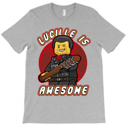 Lucille Is Awesome T-shirt Designed By Bluebubble