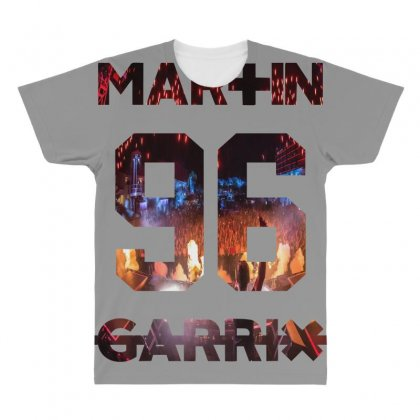 Martin Garrix All Over Men's T-shirt Designed By Bluebubble