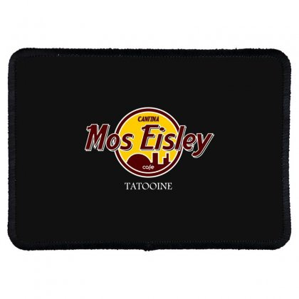 Mos Eisly Cantina Rectangle Patch Designed By Bluebubble