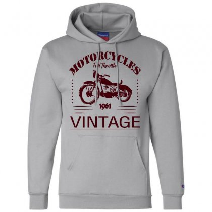 Motorcycle T Shirt Champion Hoodie Designed By Bluebubble