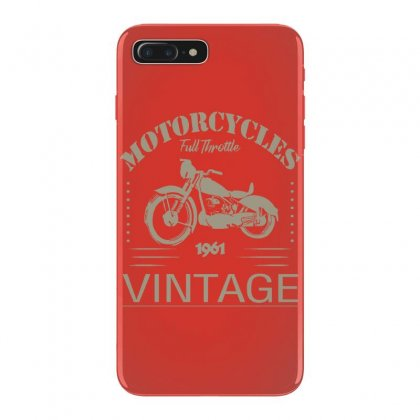 Motorcycle T Shirt Iphone 7 Plus Case Designed By Bluebubble