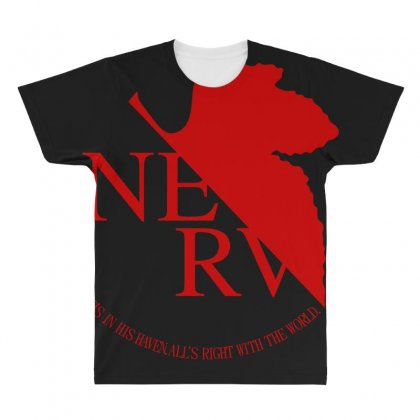 Nerv All Over Men's T-shirt Designed By Bluebubble