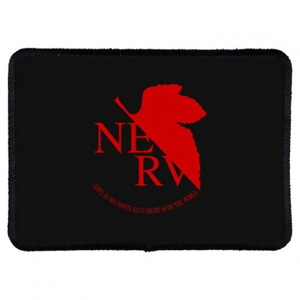 Nerv Rectangle Patch Designed By Bluebubble