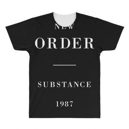 New Order Substance All Over Men's T-shirt Designed By Bluebubble