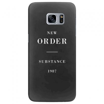 New Order Substance Samsung Galaxy S7 Edge Case Designed By Bluebubble