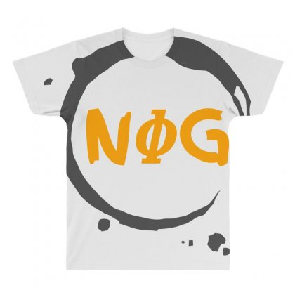 Nog 01 All Over Men's T-shirt Designed By Bluebubble
