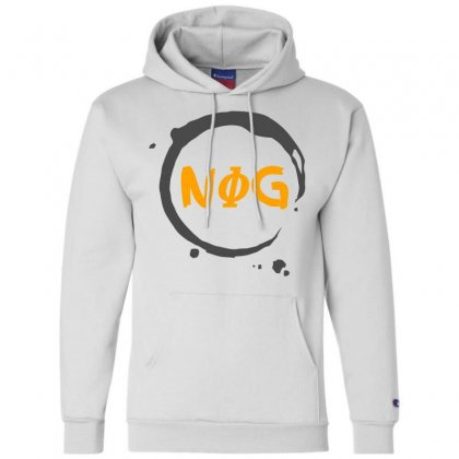 Nog 01 Champion Hoodie Designed By Bluebubble