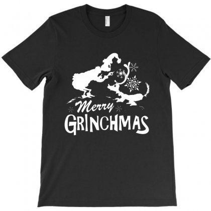 Merry Grinchmas T-shirt Designed By Rodgergise