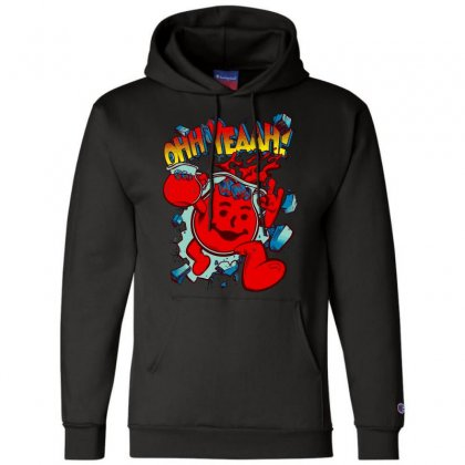 Ohhh Yeah Champion Hoodie Designed By Bluebubble
