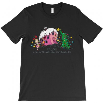 Every Who In Who Ville Liked Christmas Holiday T-shirt Designed By Rodgergise