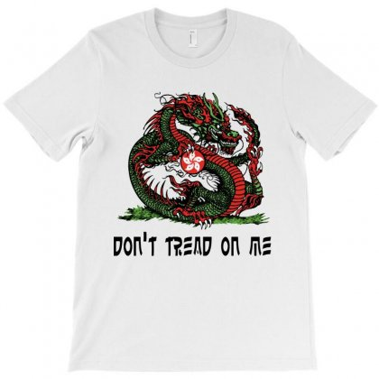 Don't Tread On Me T-shirt Designed By Rodgergise