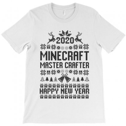 Minecraft  Master Crafter Ugly Sweatshirt T-shirt Designed By Tiococacola