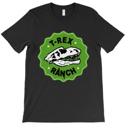 T-rex Ranch T-shirt Designed By Rodgergise