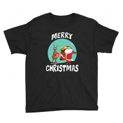 Adorable Reindeer Youth Tee Designed By Michelziud