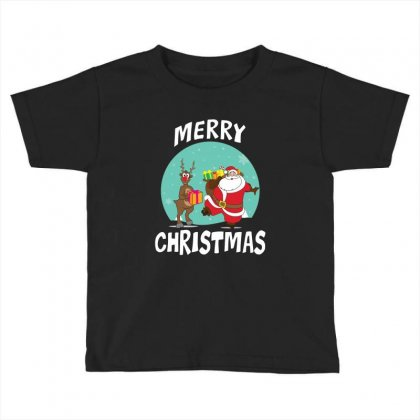 Adorable Reindeer Toddler T-shirt Designed By Michelziud