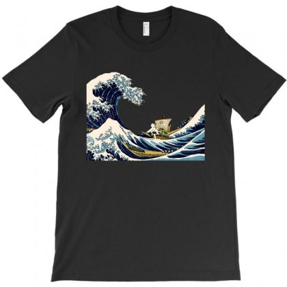 Go Merry Wave T-shirt Designed By Rodgergise