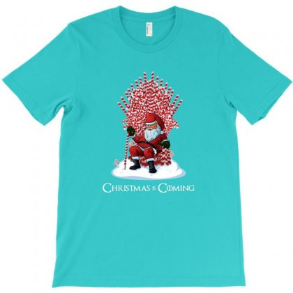 Christmas Is Coming T-shirt Designed By Michelziud