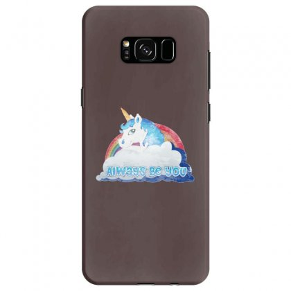 Central Intelligence Unicorn Samsung Galaxy S8 Case Designed By Michelziud