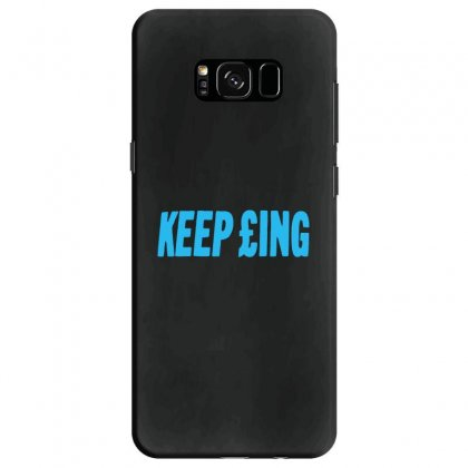 Keep Panthers Samsung Galaxy S8 Case Designed By Michelziud
