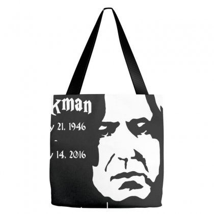 Alan Rickman Severus Snape Always Tribute Tote Bags Designed By Pujangga45