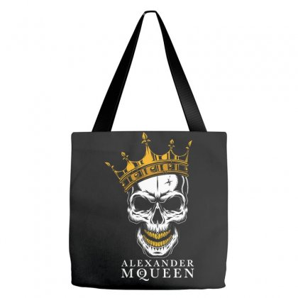 Alexander Mc Queen Skull Tote Bags Designed By Pujangga45