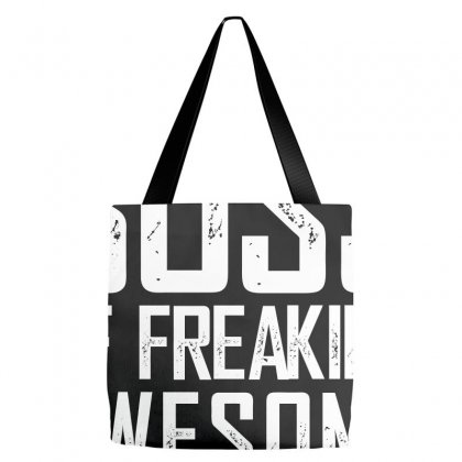 I Am A Proud Boss Of Freaking Awesome Employees Funny Tote Bags Designed By Dejavu77